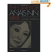 Image for The Diary of Anais Nin Volume One 1931-1934