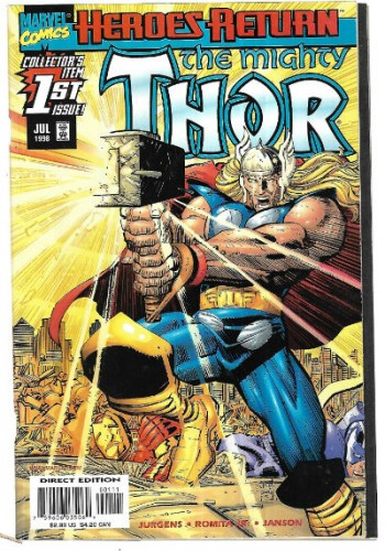 Image for Thor #1 2nd series
