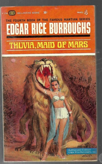 Image for Thuvia, Maid of Mars (Martian Tales #4)