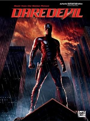 Image for Daredevil (Music from the Motion Picture): Authentic Guitar TAB