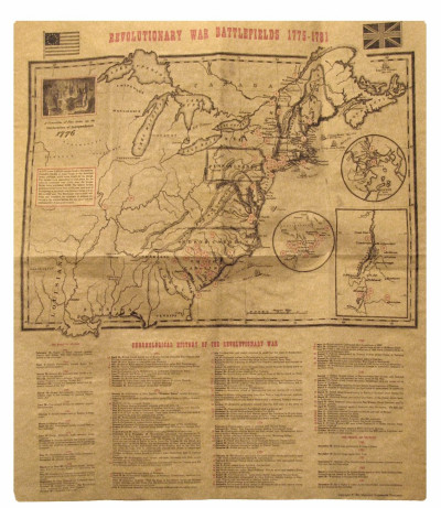 Image for revolutionary war battlefields 1775-1781