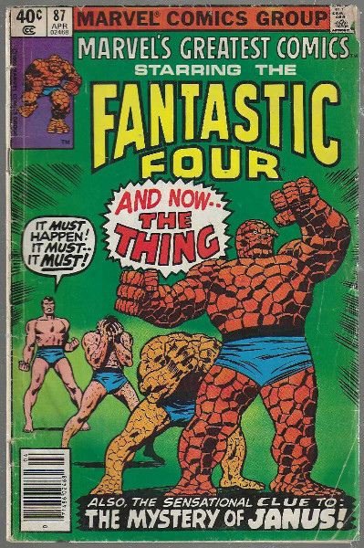 Image for Marvel's Greatest Comics #87:Starring the Fantastic Four