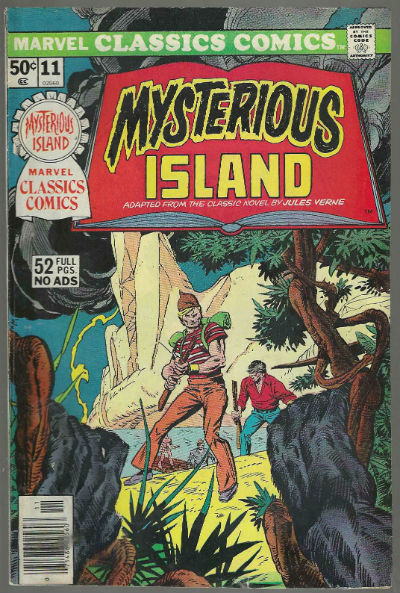 Image for Marvel Classic Comics #11: Mysterious Island;adapted from the clsssic novel of Jules Verne