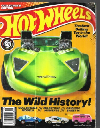 Image for Hot Wheels:Collector's edition (ATHLON CLASSICS #29) 50th anniversary 2018