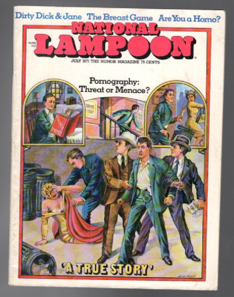 Image for National Lampoon:July,1971;Vol.1,#16
