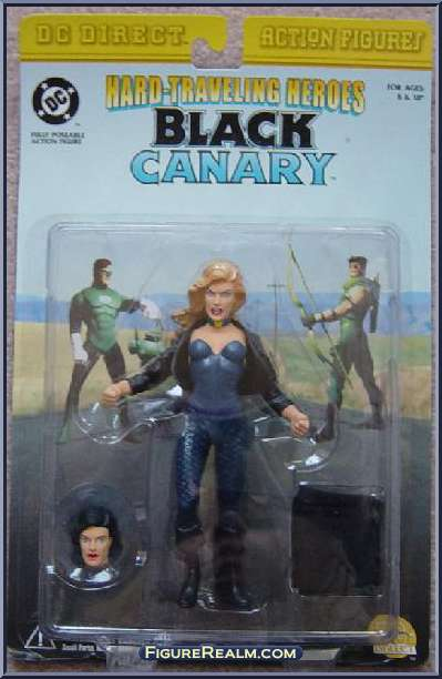 Image for DC Direct Hard-Traveling Heroes Black Canary Dinah Lance Figure