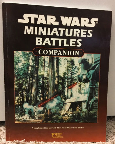 Image for West End Games Star Wars Miniatures Battles Companion Book