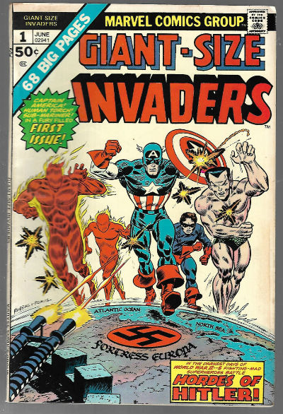Image for Giant Size Invaders (1975) #1