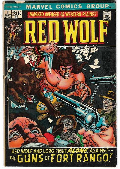 Image for RED WOLF #1   1972-1973 |  VOLUME 1 |  MARVEL