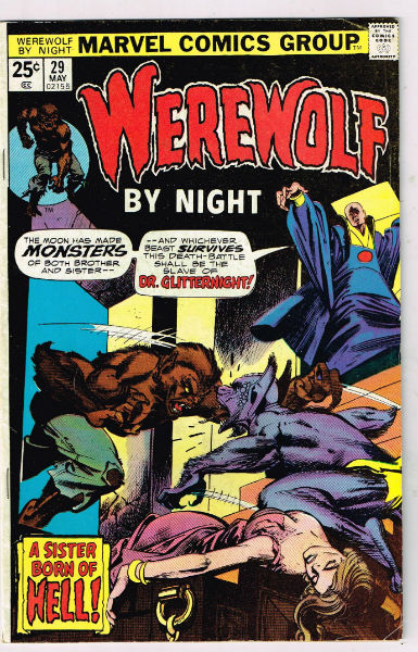 Image for Werewolf by Night #29