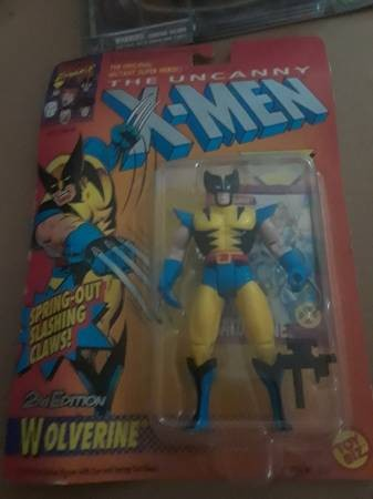 Image for Uncanny X-Men, Wolverine Action Figure, 2nd Edition,Spring-Out Claws,1992