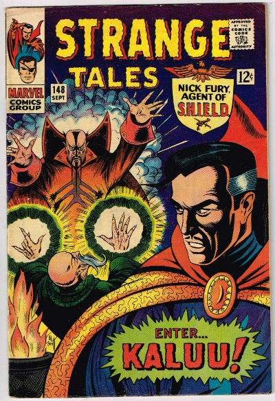 Image for STRANGE TALES #148    1966,Sept.| VOLUME 1 | MARVEL