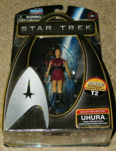 Image for 2009 PLAYMATES STAR TREK GALAXY COLLECTION UHURA FIGURE (New In Package)
