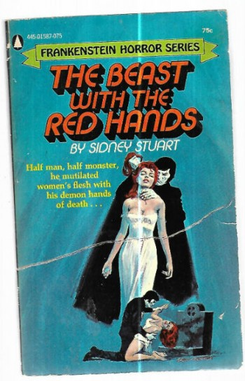 Image for The Beast with red hands:Frankenstein Horror Series