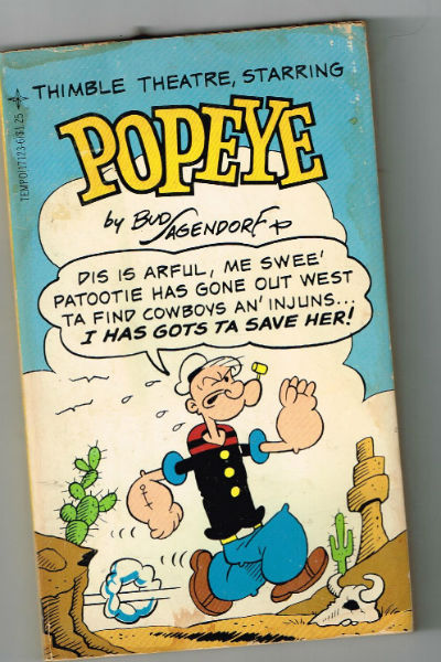 Image for Thimble Theatre, Starring Popeye: 003