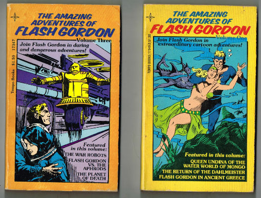 Image for Amazing Adventures of Flash Gordon #1 and #3
