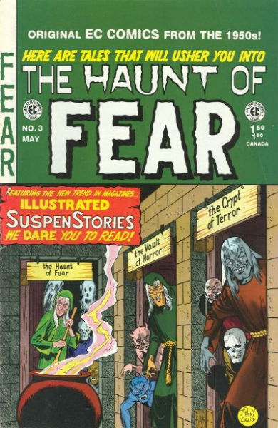Image for the Haunt of fear #3