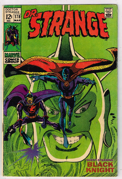 Image for Doctor Strange;#177-180,march-May,1969