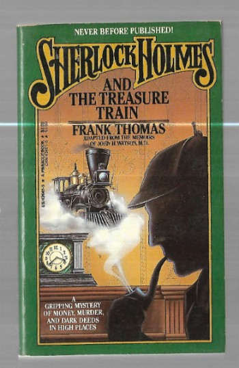 Image for Sherlock Holmes and the treasure train
