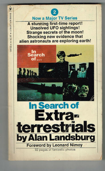 Image for In Search of Extraterrestrials  fwd.by Spock