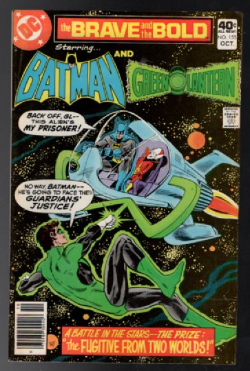 Image for The Brave and the Bold #155:The Batman and the Green Lantern
