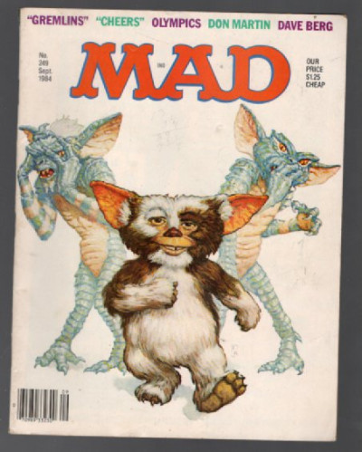 Image for Mad Magazine #249