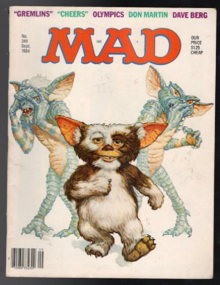 Image for Mad magazine #249 ,Sept.,1984