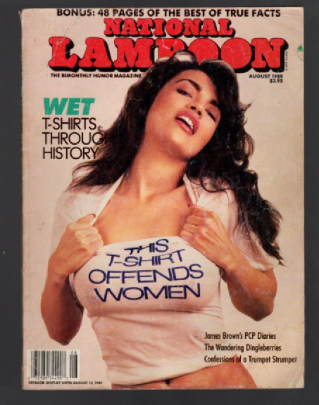 Image for National Lampoon,Aug.,1989