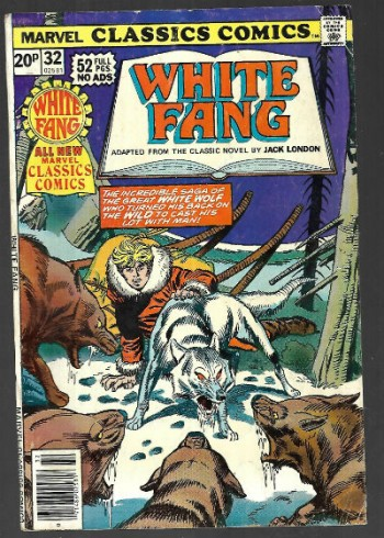 Image for Marvel Classic Comics featuring White Fang