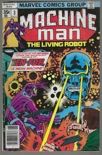 Image for Machine man #3 ;the living Robot