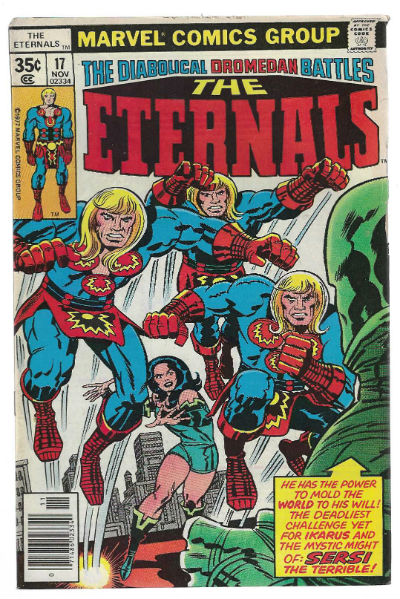 Image for The Eternals #17