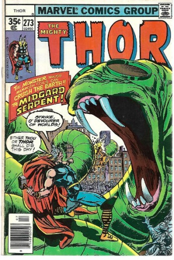 Image for Thor 2 issues  #273 #274