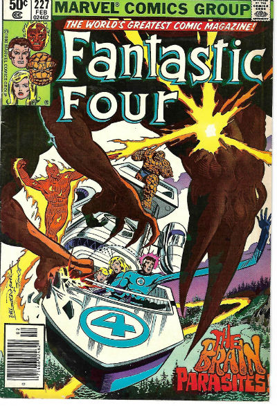 Image for FANTASTIC FOUR #227   1961-2012 |  VOLUME 1 |  MARVEL