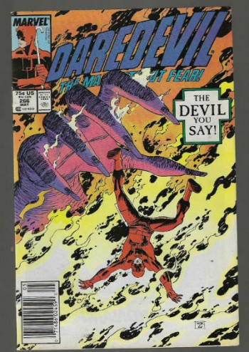 Image for Daredevil #266;The Man Without Fear