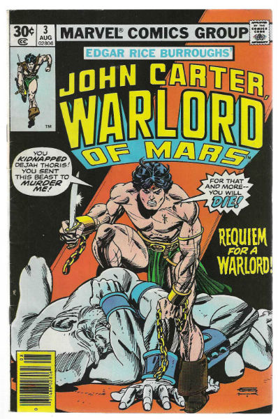 Image for John Carter:Warlord of Mars #3