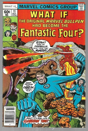 Image for What if? What if the original Marvel bull-pen had become the Fantastic Four?
