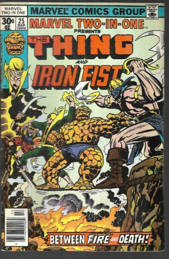 Image for Marvel two-in-one #25:Thing and Iron Fist