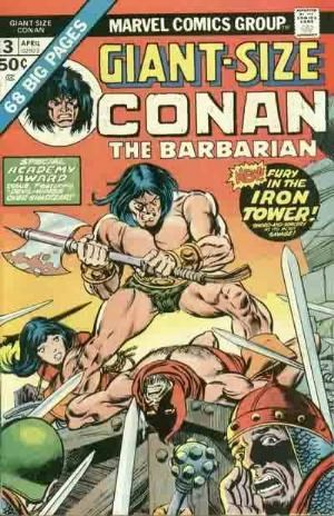 Image for CONAN THE BARBARIAN GIANT SIZE #3   1970-1994 |  VOLUME 1 |  MARVEL