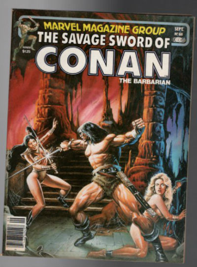 "Image for Savage Sword Of Conan No.68 :: 1981 :: :: ""Black Cloaks Of Ophir"