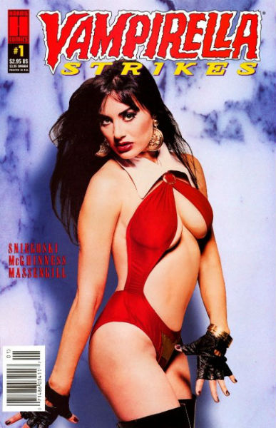 Image for Vampirella Strikes (1995) #1C,Vampirella Strikes  #2P and Vampirella Strikes #3.  (3 issue set)