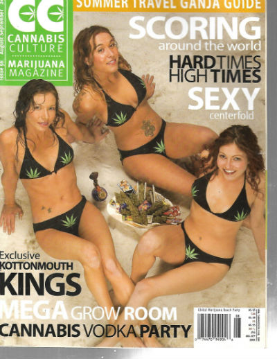 Image for 3 well read stoner magazines