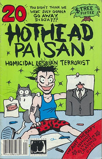 Image for HOTHEAD PAISAN #20   1991-1995 |  VOLUME 1 |  GIANT ASS PUBLISHING