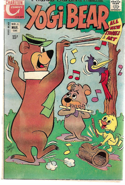 Image for YOGI BEAR #3   1970-1976 |  VOLUME 1 |  CHARLTON