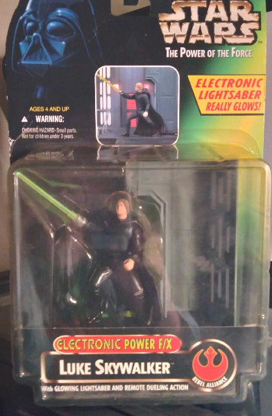 Image for Luke Skywalker: Electronic Power F/X:Star Wars:The power of the Force