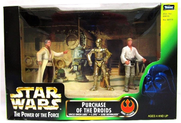 Image for Star Wars Power of the Force:Purchase of the Droids