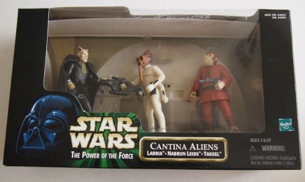 Image for Star Wars 1998 POTF CANTINA ALIENS