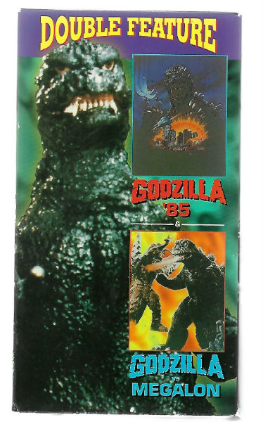 Image for Godzilla Double Feature : Godzilla 1985 & Megalon (VHS,1996) Raymond Burr