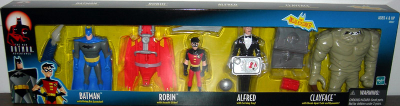 Image for Batman Animated 4-Pack, with Alfred (The New Batman Adventures)