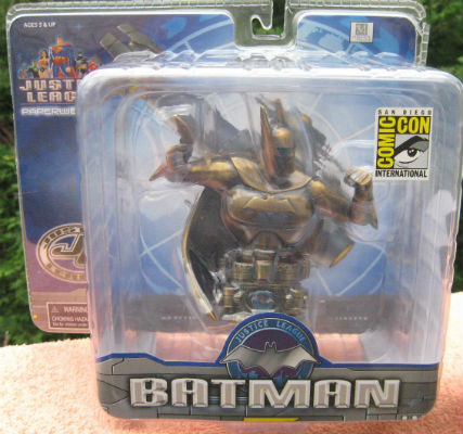 Image for Justice League: Batman SDCC Exclusive Mini Brass Paperweight