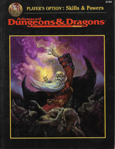 Image for Player's Option: Skills & Powers (Advanced Dungeons & Dragons Rulebook) (Hardcover)  by Dale Donovan (Author), et al.